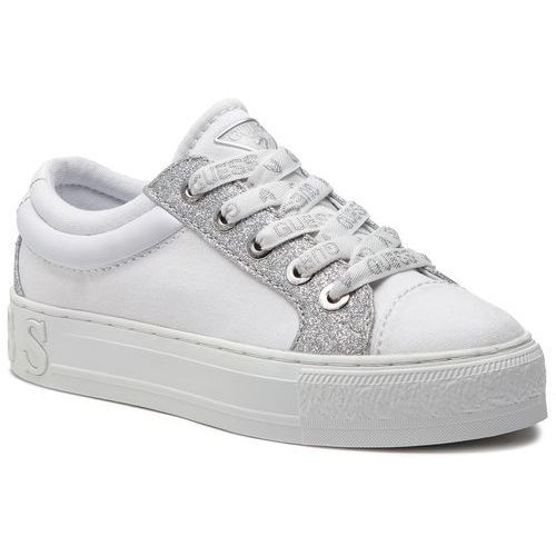 Sneakersy - fl5ly5 fab12 white, Guess, 38-41