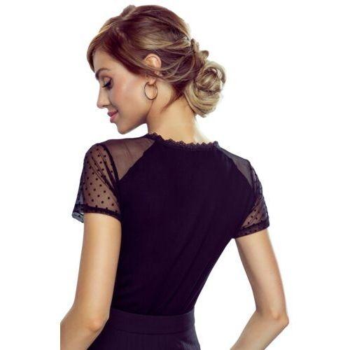 Freda bluzka damska Eldar Romantica Top Czarna, kolor czarny