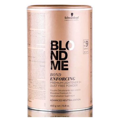 blondme rozjaśniacz w proszku premium 9+ bezpyłowy do profesjonalnego użytku bond enforcing (premium lightener 9+ dust free marki Schwarzkopf professional
