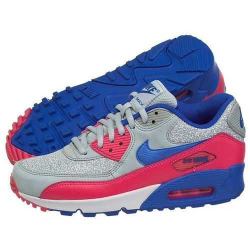 Buty Nike WMNS Air Max 90 325213-505 (NI404-g), kolor szary