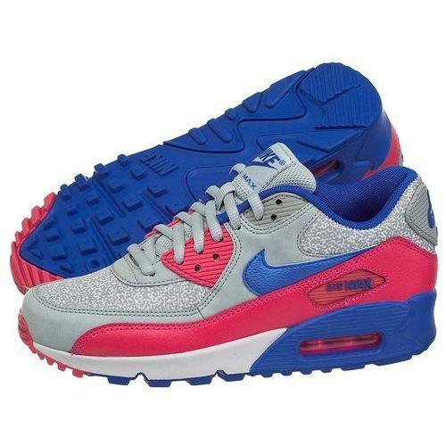 Buty Nike WMNS Air Max 90 325213-505 (NI404-g), kolor szary