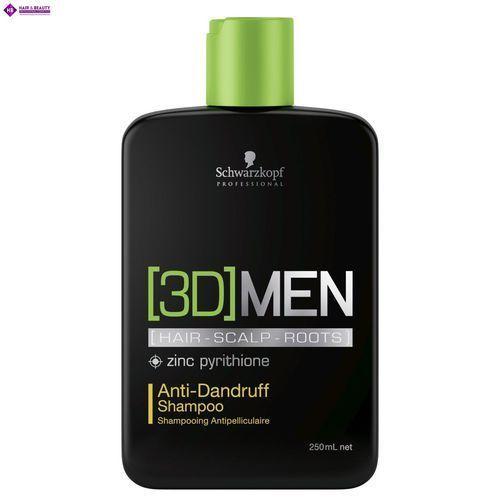 Schwarzkopf 3DMen, szampon przeciwłupieżowy dla mężczyzn, 250ml, 1175