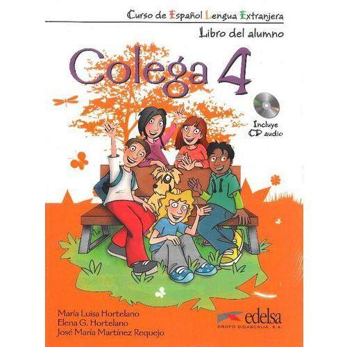 Colega 4 podręcznik ćwiczenia CD audio (50 str.)
