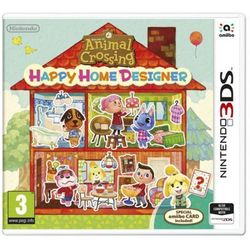 Animal crossing: happy home designer + karta amiibo gra 3ds nintendo marki Nintendo