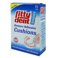 Fittydent klejące przekładki pod protezy dolne 15 szt marki Fitty dent