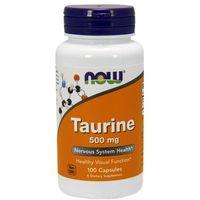 Now Foods Taurine - Tauryna 100 kaps.