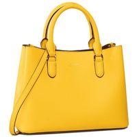 Torebka LAUREN RALPH LAUREN - Marcy II 431775153008 Yellow/Tan