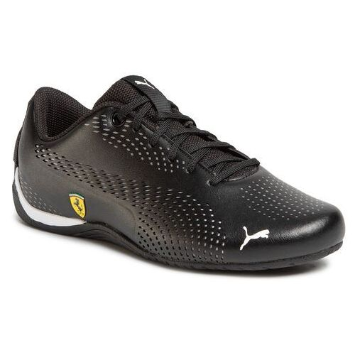 Sneakersy - sf drift cat 5 ultra ii jr 306461 01 puma black/puma white marki Puma