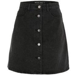 Noisy May Spódnica 'Sunny' czarny denim
