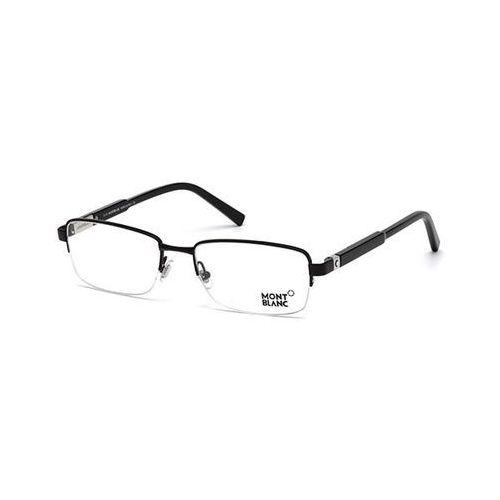 Okulary korekcyjne mb0635 001 Mont blanc