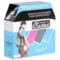 tex classic taśma do tapingu 5cm x 31,5m - niebieska marki Kinesio