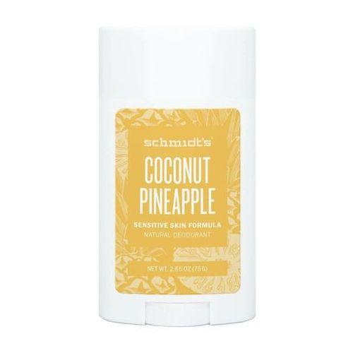 Schmidt's Dezodorant w sztyfcie do skory wrazliwej, z kokosem i ananasem, , 58 ml - Najtaniej w sieci