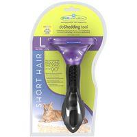 Furminator - dla kotów krótkowłosych, mały s, szerokość ostrza 4,45 cm (8117940113140)