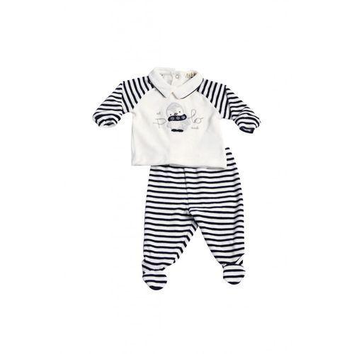 Komplet niemowlęcy bluzka+spodnie5P35BJ