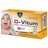 D-Vitum Witamina D dla niemowląt x 96 kapsułek twist-off