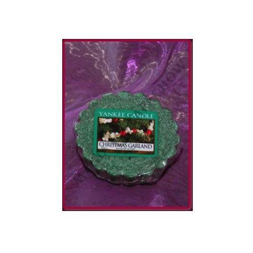 Świąteczny stroik (christmas garland) - wosk zapachowy Yankee candle