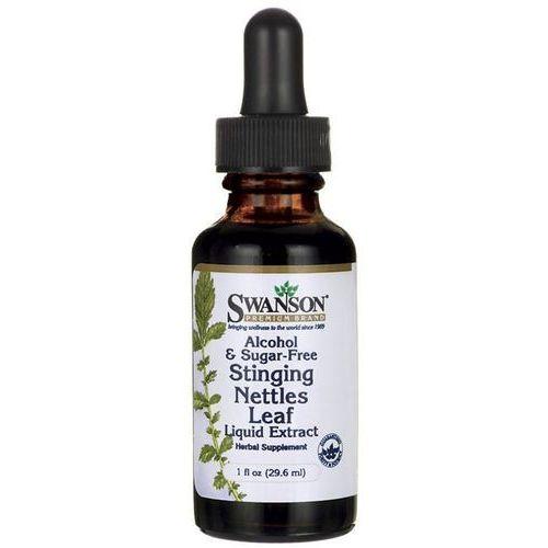 Płynny ekstrakt z liści pokrzywy Stinging Nettles Leaf 1000mg 29,6ml SWANSON