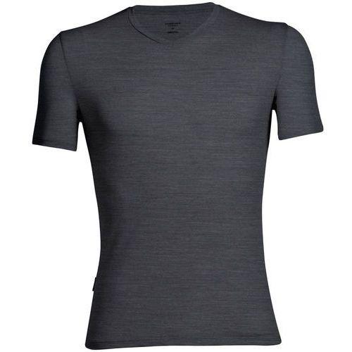 anatomica bielizna górna mężczyźni szary xl 2018 koszulki z wełny merynosów bazowe marki Icebreaker