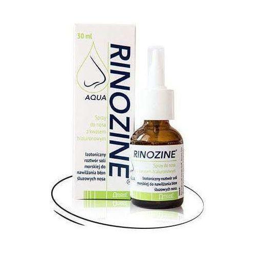 Rinozine Aqua spray do nosa z kwasem hialuronowym 30ml