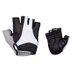 07-130591 Rękawiczki kolarskie Author Men Elite Gel czarno-białe XL