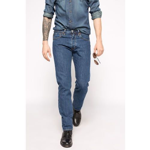 - jeansy 501 original fit stonewash marki Levi's