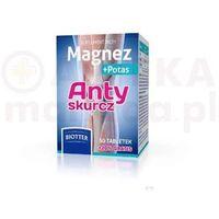 Tabletki BIOTTER MAGNEZ + POTAS Anty skurcz, 50 + 10 tabletek