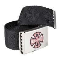 pasek INDEPENDENT - Ante Web Belt Black (BLACK)