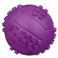 Trixie piłka kauczukowa z wypustkami 6cm [34841] (4011905348414)