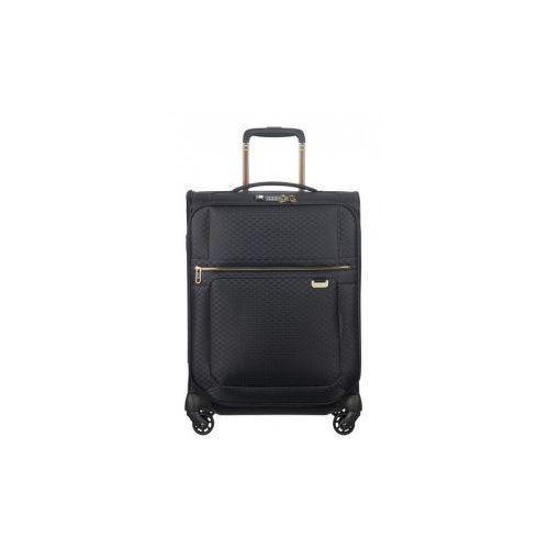 SAMSONITE walizka mała/ kabinowa S spinner UPLITE edycja limitowana black/gold 4 koła TSA z poszerzeniem