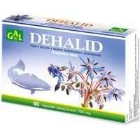 Dehalid (tran + olej z ogórecznika lekarskiego) 60 kaps.