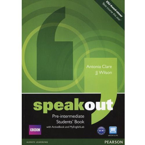 Speakout Pre-Intermediate, Student's Book (podręcznik) plus Active Book plus MyEnglishLab, oprawa miękka