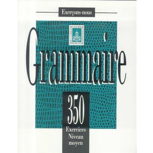 Grammaire 350 exercices niveau moyen (9782011550583)