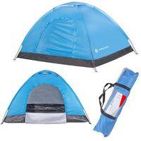 Namiot turystyczny 2 osobowy 200x150 cm niebieski