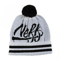 czapka zimowa NEFF - Varsity Whit (WHIT)