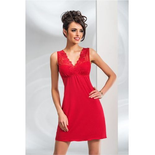 98e43b2e5d152e Koszulka nocna koszula nocna model kristina red (Donna) - sklep ...