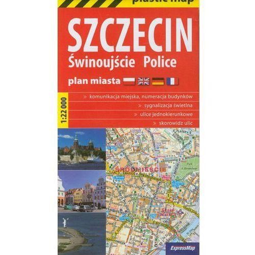 Szczecin Świnoujście Police Plan miasta 1:22 000 (9788375462753)