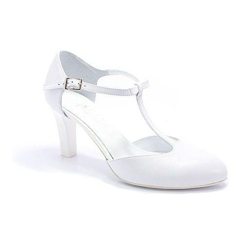 889 Białe Lico ślubne Taneczne Skóra Biały Kotyl Opinie
