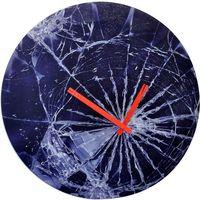 Nextime Zegar ścienny crash