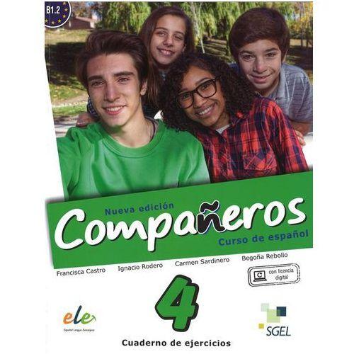 Companeros 4 Ćwiczenia + licencia digital - nueva edicion, SGEL-Educacion