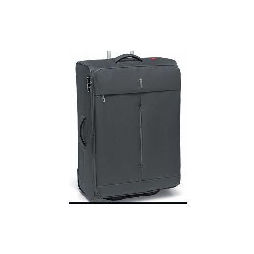 Roncato walizka średnia 2 koła z kolekcji ironik materiał nylon zamek szyfrowy tsa możliwość poszerzenia