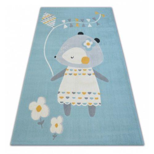 Dywan Dziecięcy Komfort Pastel 18403032 Myszka Niebieski Roomzone