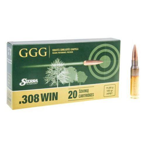 Amunicja GGG kal.308 Win 180 gr Sierra HPBT
