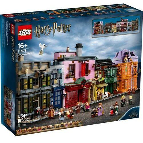 Lego HARRY POTTER Ulica pokątna diagon alley 75978