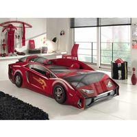 Łóżko auto samochód lambo red - łóżko dla dziecka, dla chłopca marki Vipack