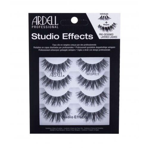 Ardell Studio Effects Wispies sztuczne rzęsy 4 szt dla kobiet Black - Ekstra oferta
