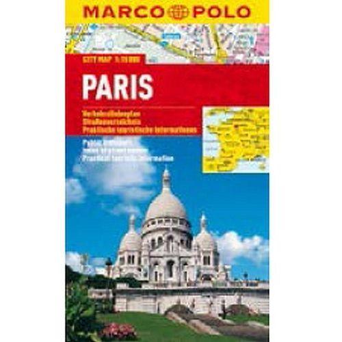 Paryż 1:15 000. Foliowany plan miasta. Marco Polo, praca zbiorowa