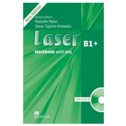Laser B1+ (3rd ed.) Ćwiczenia + CD (z kluczem) Język angielski, oprawa miękka