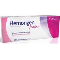 Tabletki Hemorigen femina x 20 tabletek