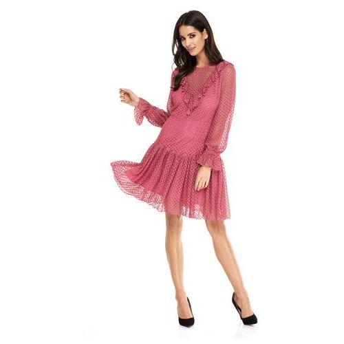 Sukienka Dahlia w kolorze różowym