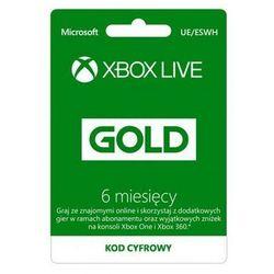 MICROSOFT Abonament Xbox Live 6 Miesięcy